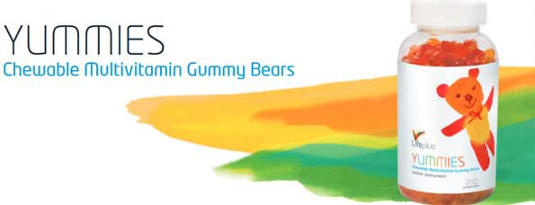 Yummies Children's Chewable Vitamins from Life Plus
